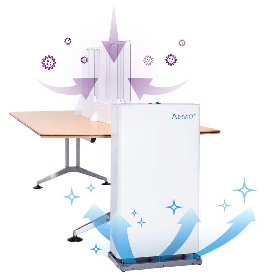 空気の吸気・循環・排気